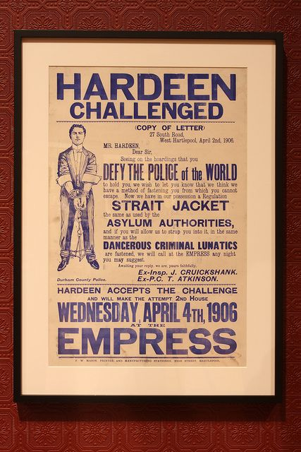 Hardeen Challenged at the Empress, April 1906