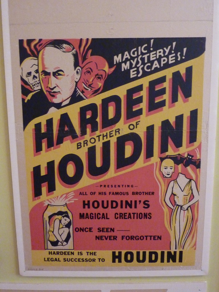 Hardeen is the Legal Successor of Houdini