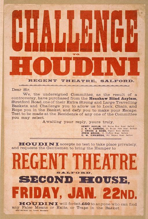 Salford's Regent Theatre challenge