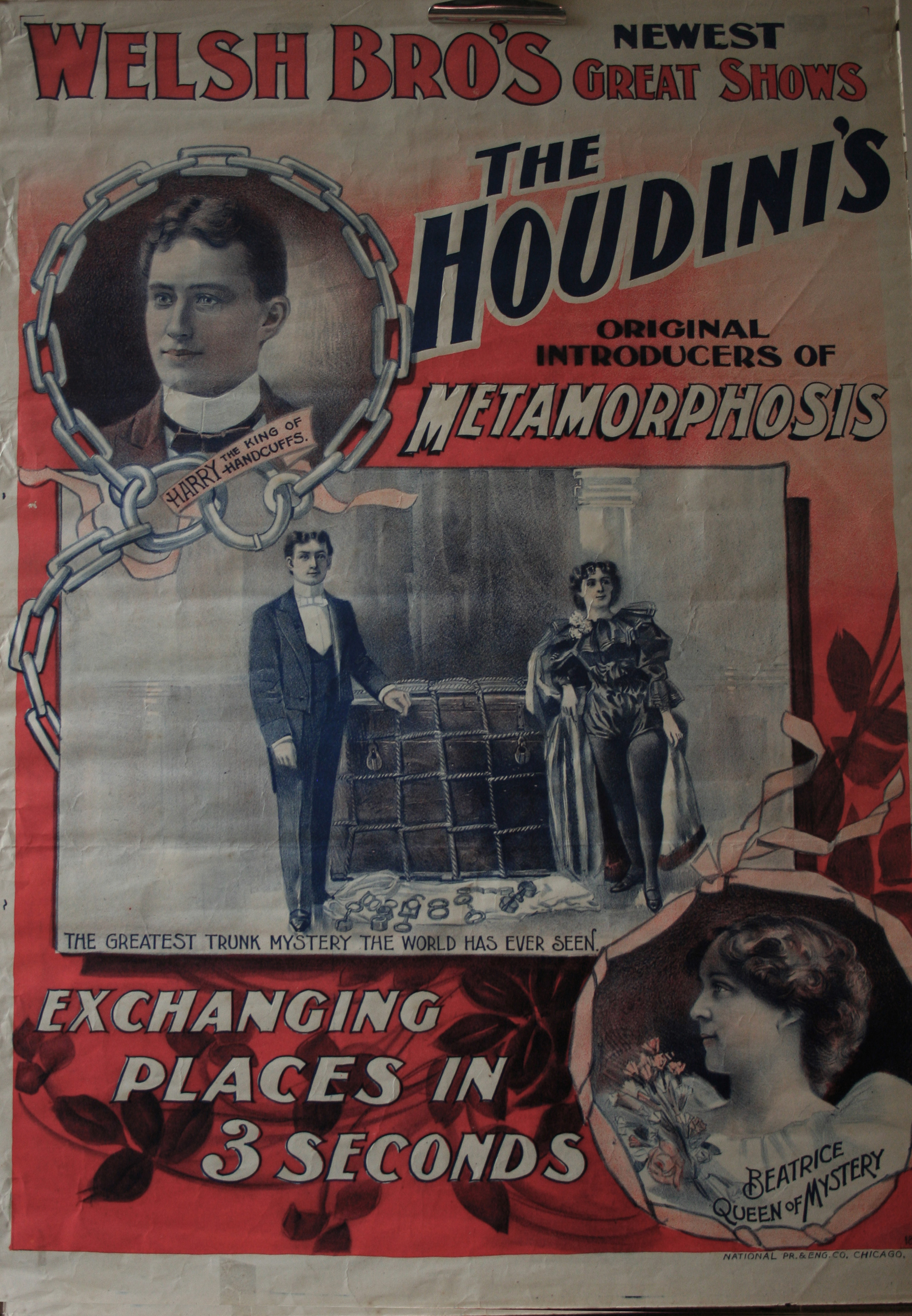 Poster for Houdini's