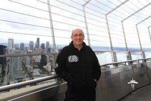 Mio at the Space Needle, Seattle